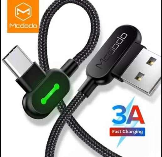 Cable Con Conector De 90° Para Micro Us