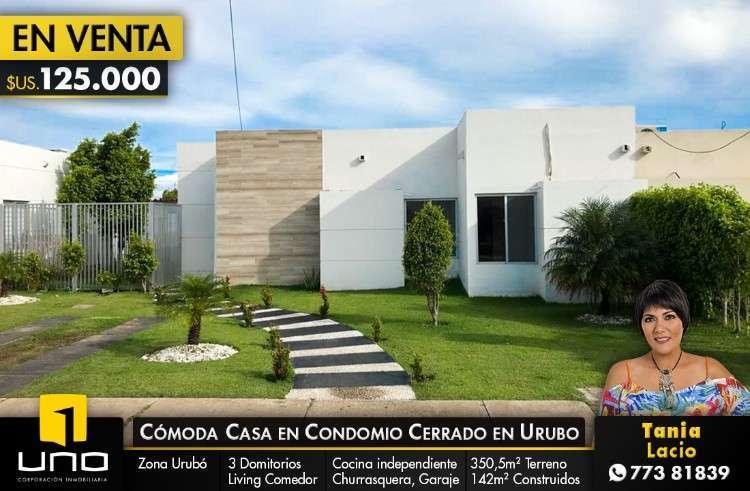 Linda Casa En Venta Urb. Santa Cruz De L