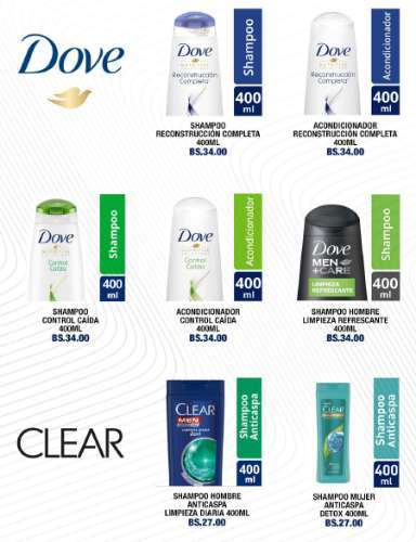 Dove Y Clear