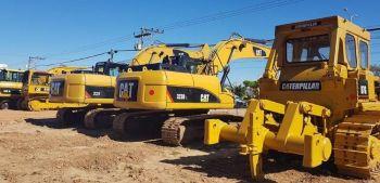 Excavadoras Caterpillar 320d, 320dl, 323