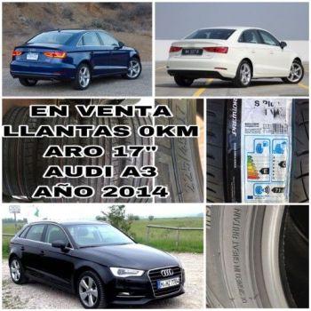 Para Audi A3 En Venta Llantas 17 0km--22