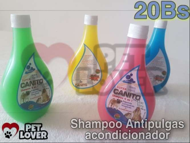 Shampoo 4 En 1 Para Mascotas