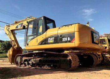 Excavadora Caterpillar 320dl Año 2006,