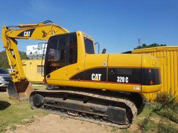 Excavadora Caterpillar 320c Año 2006 Ja