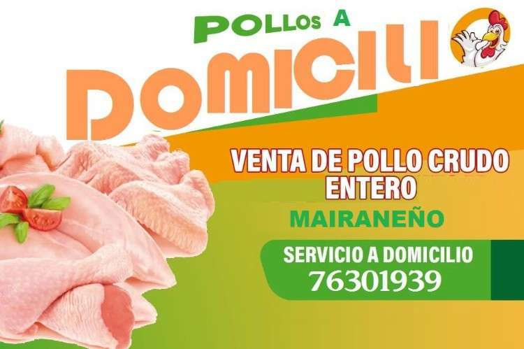 Pollo Crudo A Domicilio