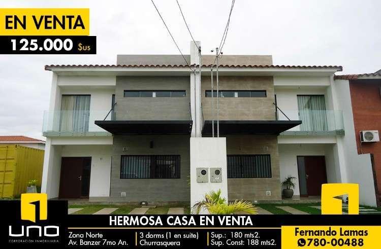 Casa En Venta, Zona Norte