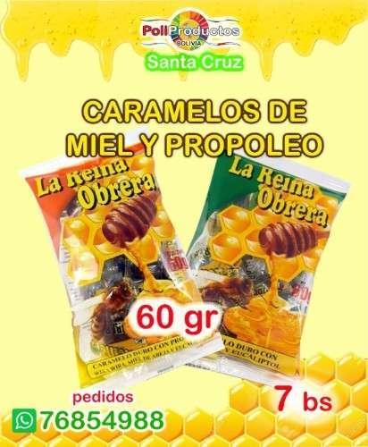 Caramelos De Miel Y Propoleo