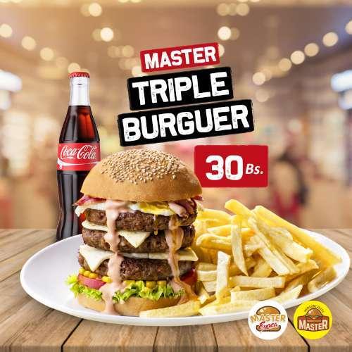 Master Triple Burguer