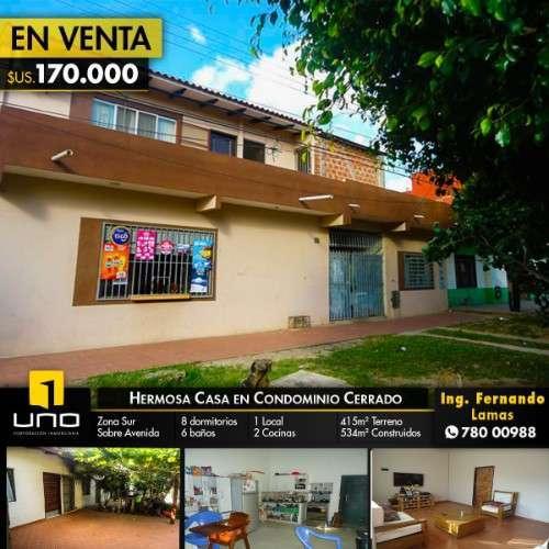 Casa En Venta, Zona Sur, Zona Av. Santos