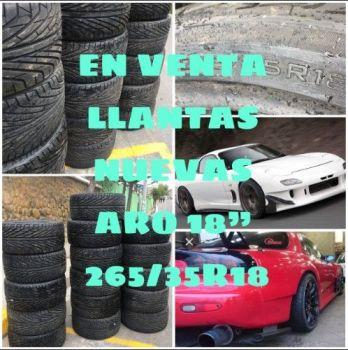 En Venta Llantas Aro 18 Nuevas-----265/3