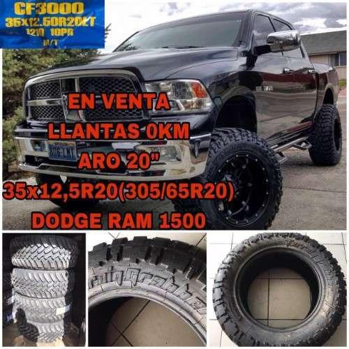 35x12,5r20 Llantas Aro 20 Para Ram 1500