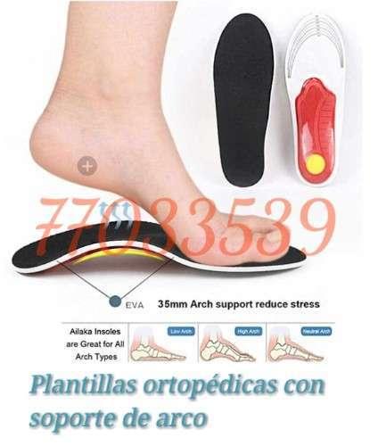 Plantillas Ortopédica Para Pie Plano Co