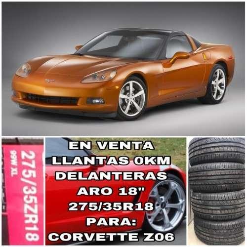 Venta Llantas Delanteras Para Corvette--