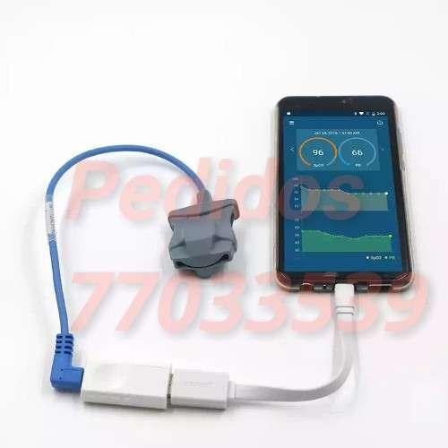 Mini Usb-spo2 Bluetooth Recargable Oxím