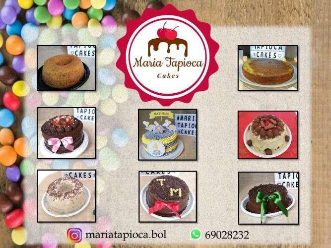 Maria Tapioca Cakes