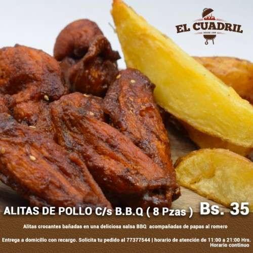 Alitas De Pollo B.b.q