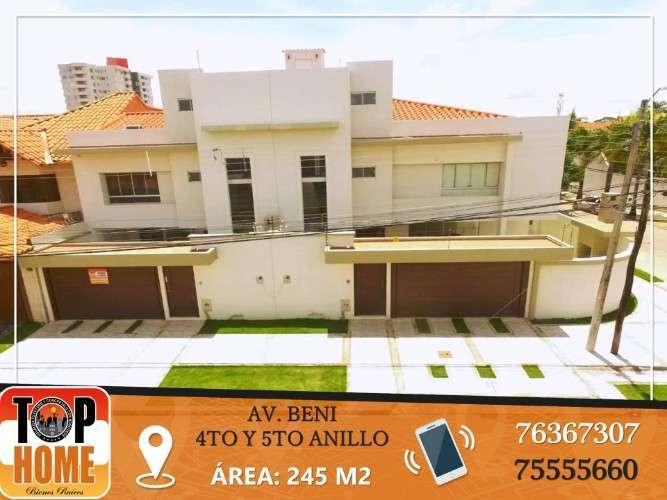 Hermosa Casa En Av Beni En Venta O Alqui