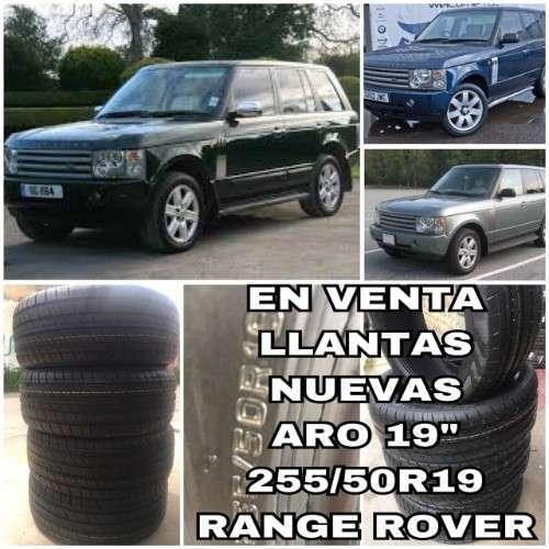 Venta Llantas Para Range Rover---aro 19-