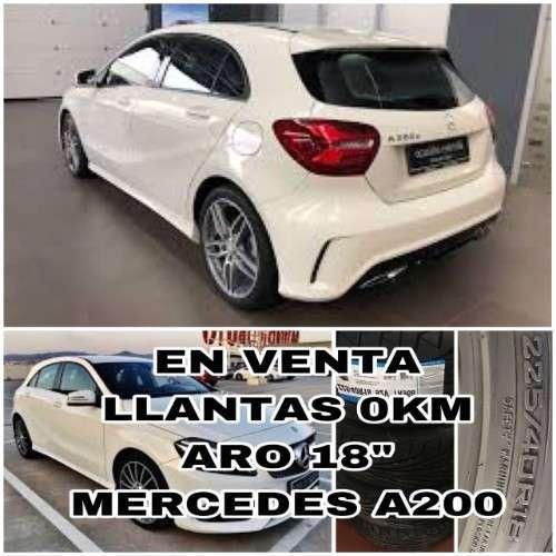 Venta Llantas Para Mercedes A200--aro 18