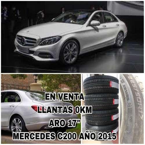 Venta Llantas Para Mercedes C200--aro 17