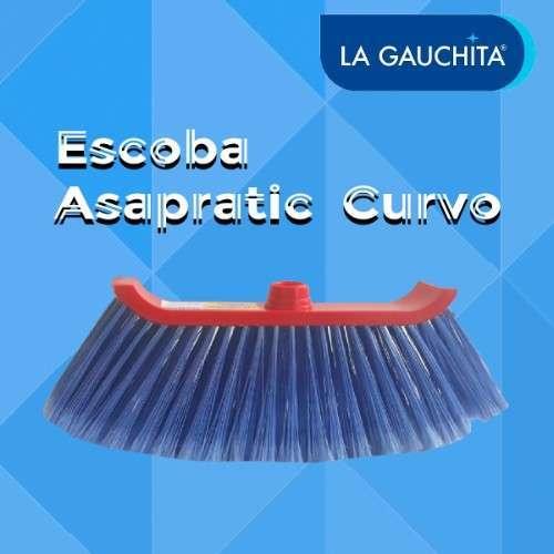 Escoba Asapratic Curvo La Gauchita