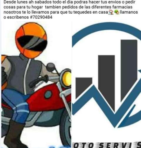 Servicio De Delivery En Moto