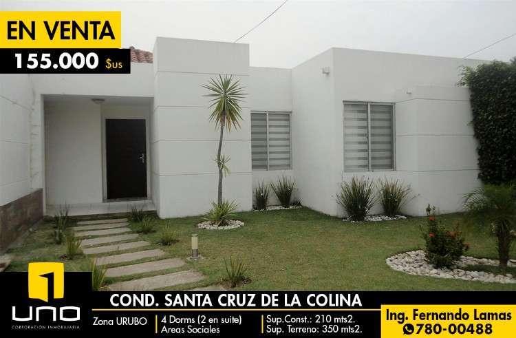 Casa En Venta En Condominio Santa Cruz D