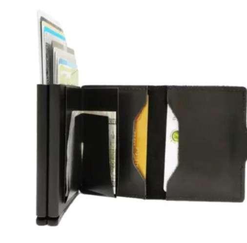 Billetera Con Dispensador De Tarjetas