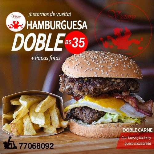 Hamburguesa Doble
