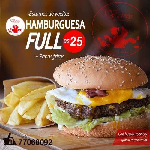 Hamburguesa Full