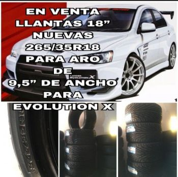 En Venta Llantas Nuevas !!!aro 18´-----