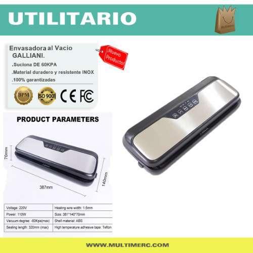 Envasadora Al Vacío Premium Galliani