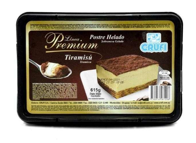 Premium - Postre Helado - Tiramisu