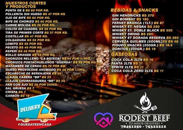 Productos Roodest Beef