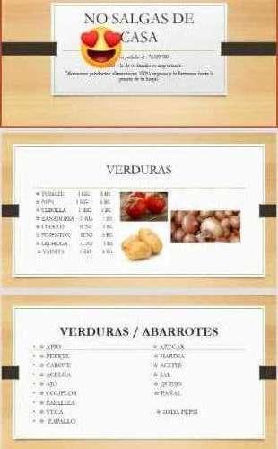 Verduras / Abarrotes / Carnes Y Otros