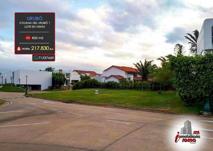 Condominio colinas del urubó - lote en venta1190854966