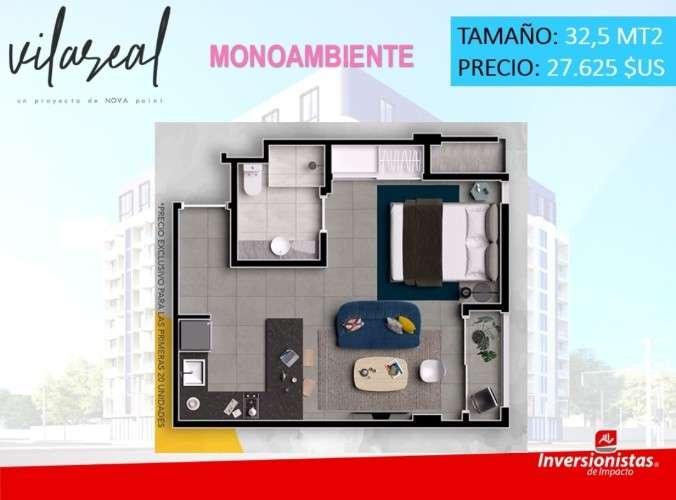 Pre-venta de monoambientes, dptos de 1 y 2 dormitorios av. banzer1536256365