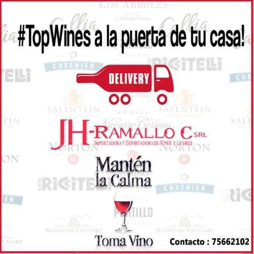 Jh ramallo importadora de vinos, licores y espirituosas.1198306450