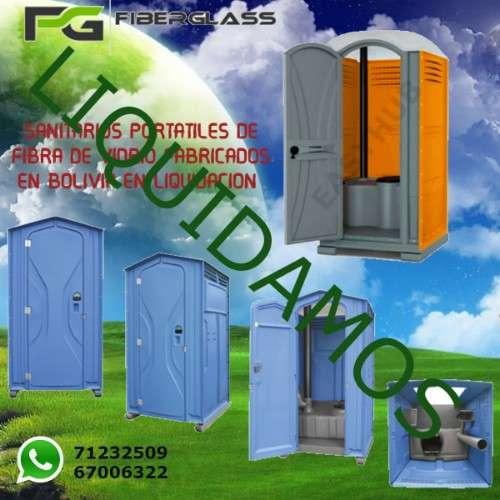 Liquidación de baños portátiles de fibra de vidrio1315789818
