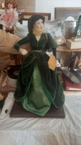 Hermosa muñeca de porcelana para coleccionistas!!!!560802559
